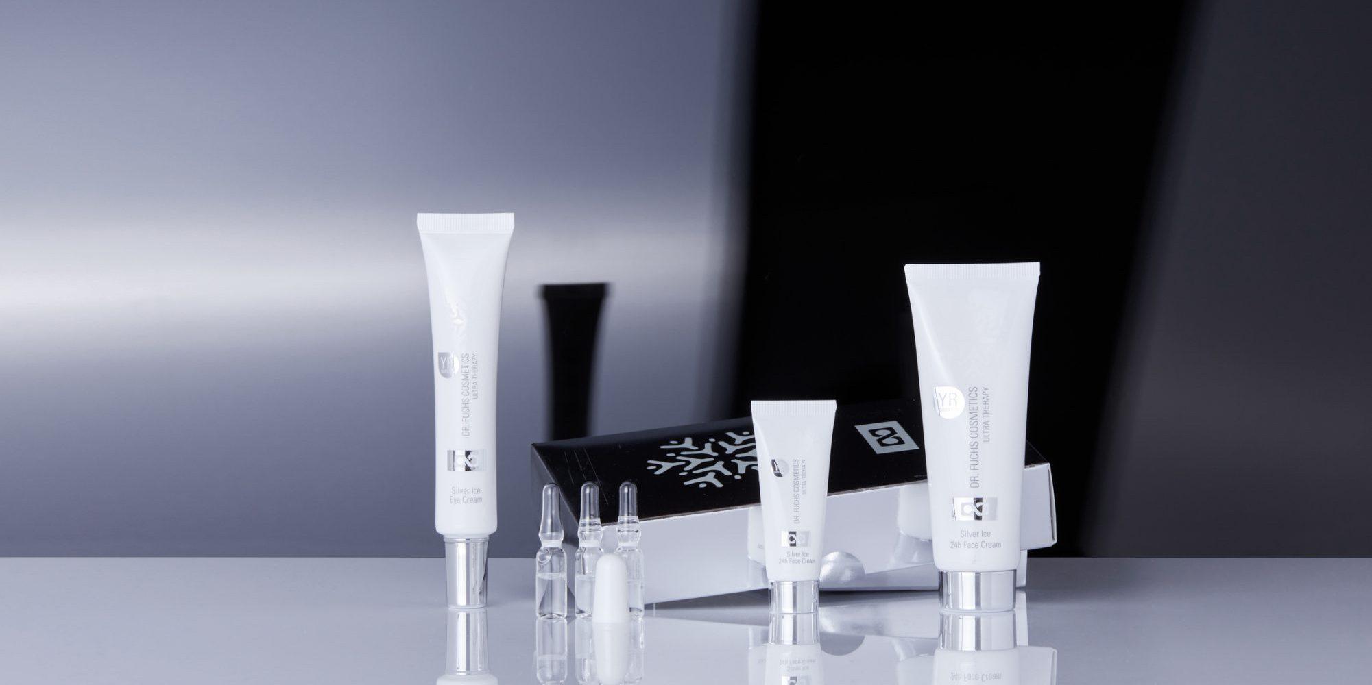 Produktfoto aller Produkte der Dr. Fuchs Cosmetics Ultra Therapy Silver Ice