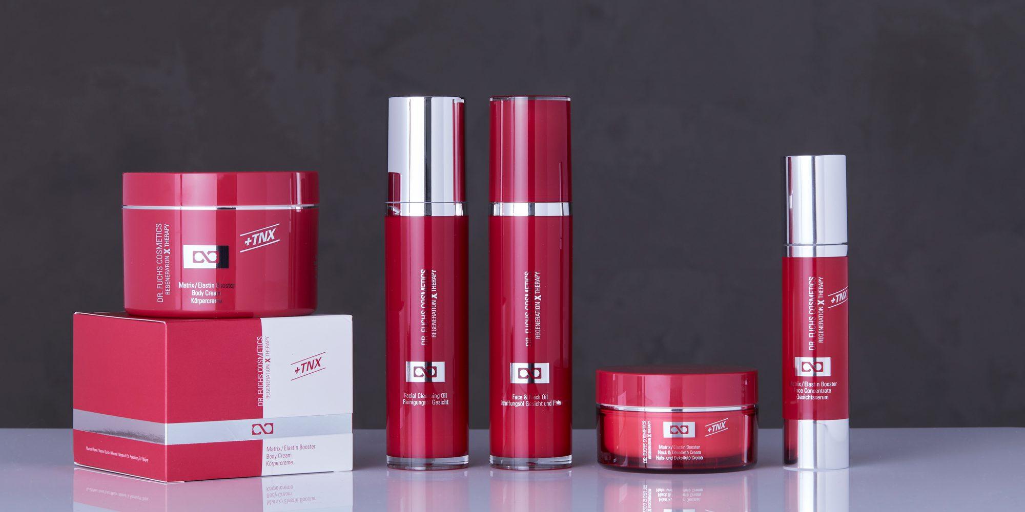 Produktfoto aller Produkte der Dr. Fuchs Cosmetics Regeneration X Therapy