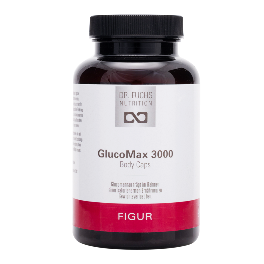 Produktfoto Dr. Fuchs Nutrition GlucoMax 3000 Body Caps