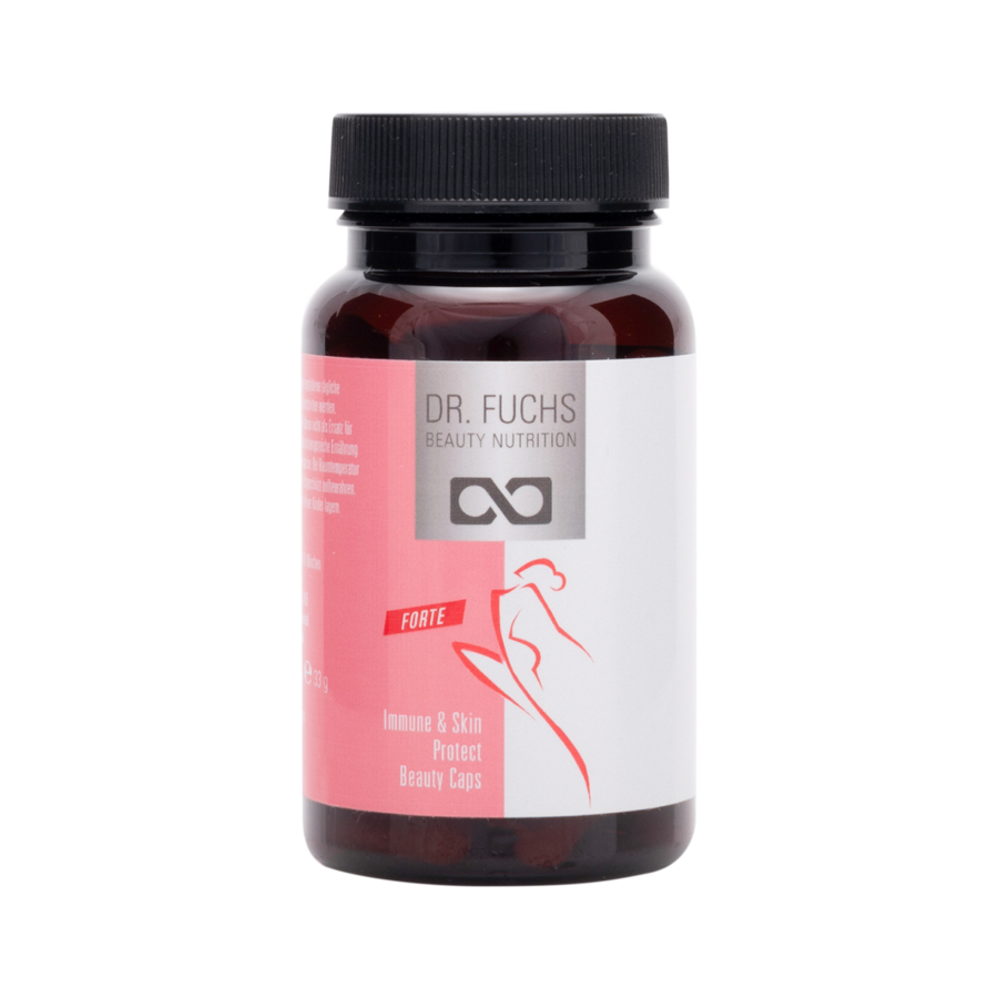 Produktfoto Dr. Fuchs Nutrition Immune and Skin Protect Beauty Caps