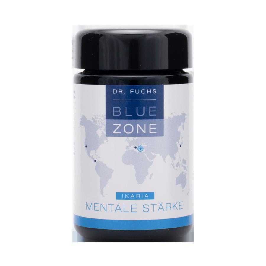Produktfoto Dr. Fuchs Blue Zone Ikaria Mentale Stärke