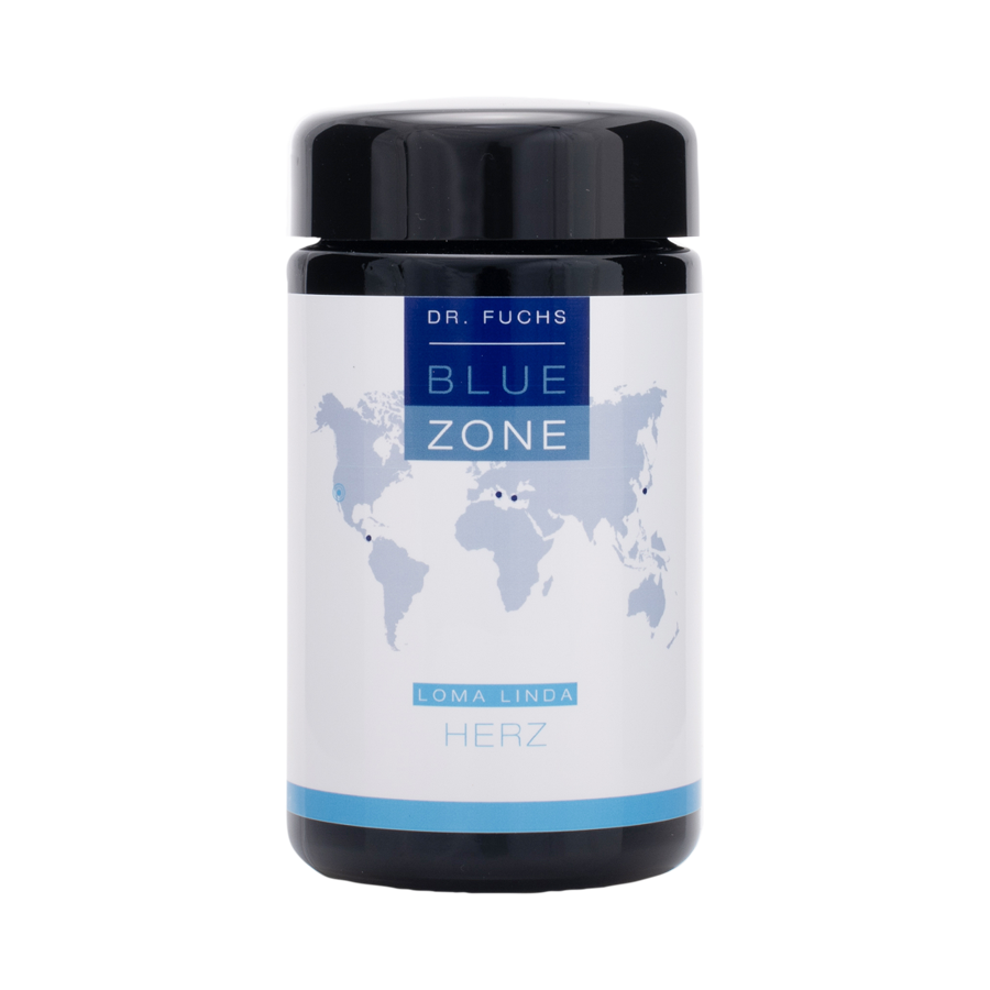 Produktfoto Dr. Fuchs Blue Zone Loma Linda Herz