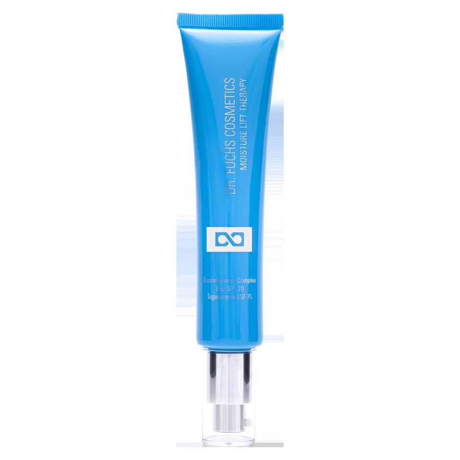 Produktfoto Dr. Fuchs Cosmetics Moisture Lift Therapy BiotinPolymer Complex Day SPF 20 Tagescreme LSF 20
