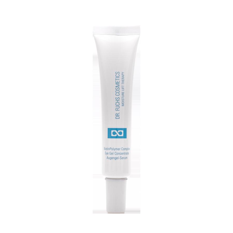 Produktfoto Dr. Fuchs Cosmetics Moisture Lift Therapy BiotinPolymer Complex Eye Gel Concentrate Augengel-Serum