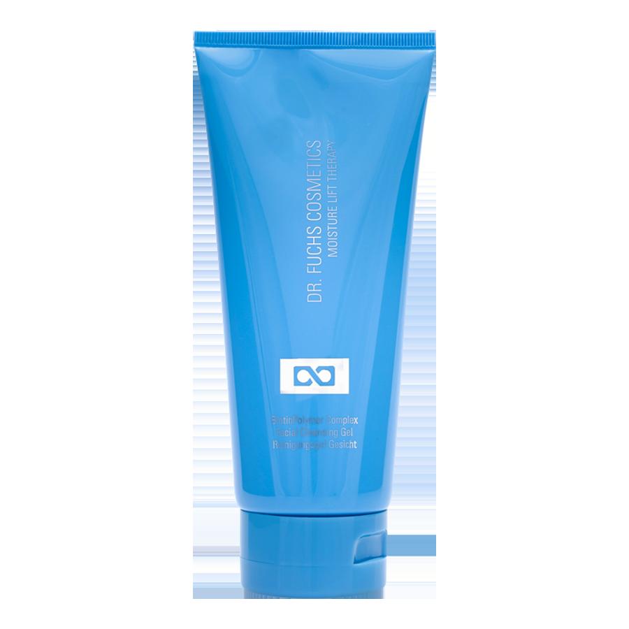 Produktfoto Dr. Fuchs Cosmetics Moisture Lift Therapy BiotinPolymer Complex Facial Cleansing Gel Reinigungsgel Gesicht