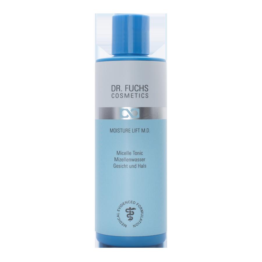 Produktfoto Dr. Fuchs Cosmetics Moisture Lift Therapy BiotinPolymer Complex Micelle Tonic Mizellenwasser Gesicht und Hals