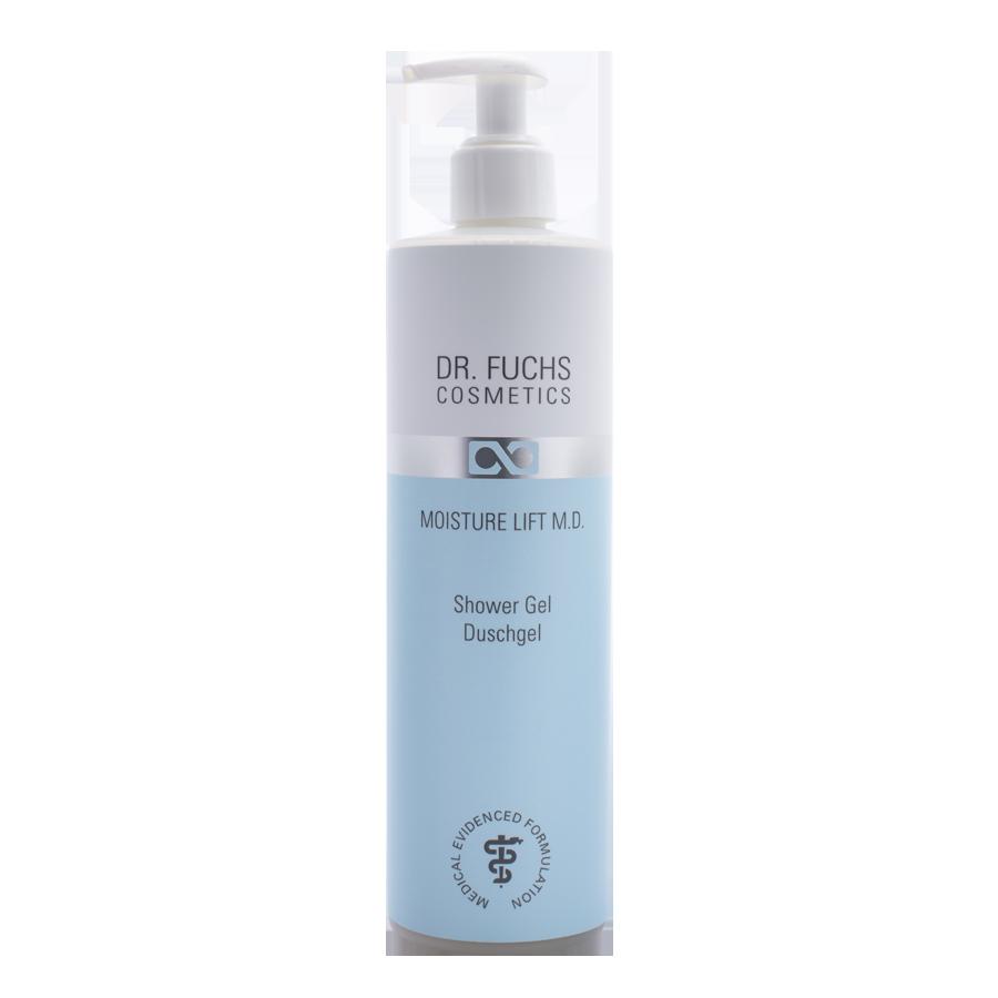 Produktfoto Dr. Fuchs Cosmetics Moisture Lift Therapy BiotinPolymer Complex Shower Gel Duschgel