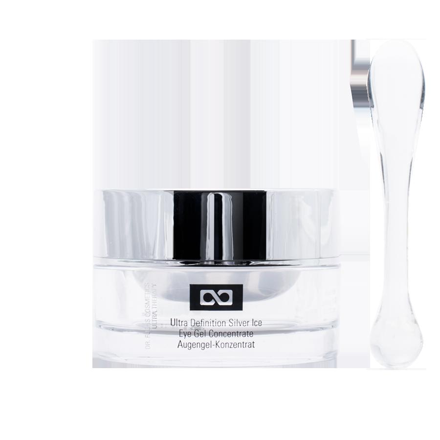 Produktfoto Dr. Fuchs Cosmetics Ultra Therapy Ultra Definition Silver Ice Eye Gel Concentrate Augengel-Konzentrat
