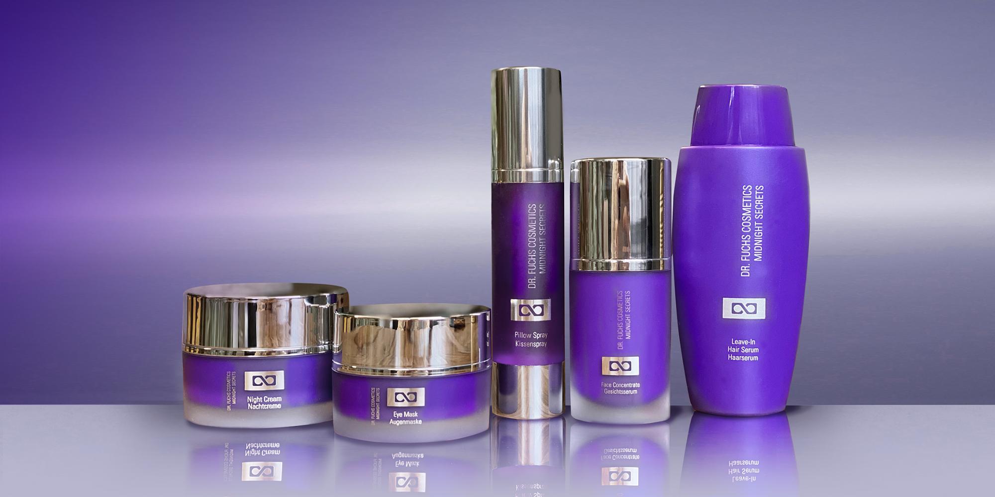 Produktfoto aller Produkte der Dr. Fuchs Cosmetics Ultra Therapy